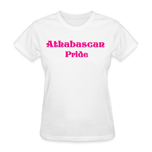 Women Athabascan Pride  - Women's T-Shirt