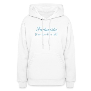 2 sided Fortunista... hooded sweatshirt - Women's Hoodie