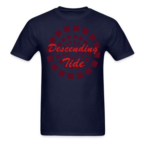 Navy w/Red Logo - Men's T-Shirt