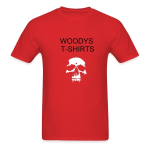 WOODYS COMPANY SHIRT - Men's T-Shirt