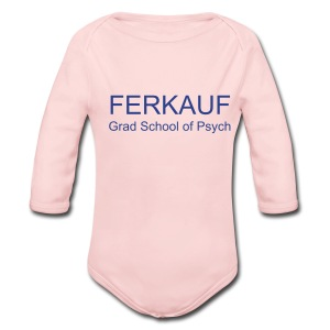 Long Sleeve Baby Bodysuit - NEW! Available in White, Pink, and Powder Blue