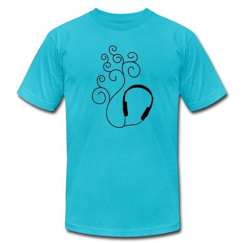 listen to the sound - Men's  Jersey T-Shirt