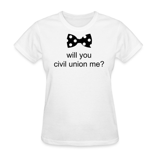civil union - girls - Women's T-Shirt