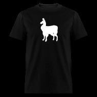 T-Shirts ~ Men's T-Shirt ~ Llama