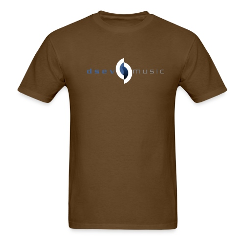 DSEV Men's logo plain - Men's T-Shirt