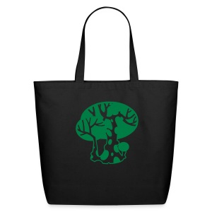 Green Happy Tree - Eco-Friendly Cotton Tote
