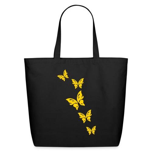 Butterflies - Eco-Friendly Cotton Tote