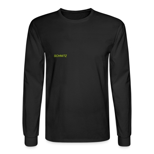 SCHNITZ LONG SLEEVE HANES TEE - Men's Long Sleeve T-Shirt