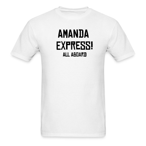 Amanda Express (Men's) - Men's T-Shirt