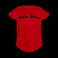 Baby Bodysuits ~ Baby Short Sleeve One Piece ~ Infant Italia PrideGothic , Red