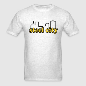 steel city old school  - Men's T-Shirt