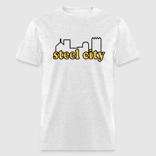 steel city old school  - Men's T-Shirt
