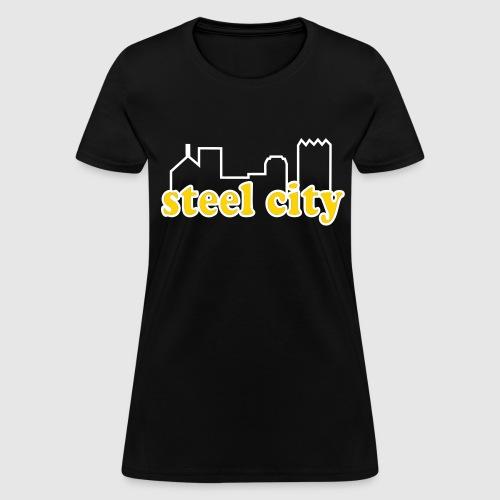 steel city old school  - Women's T-Shirt
