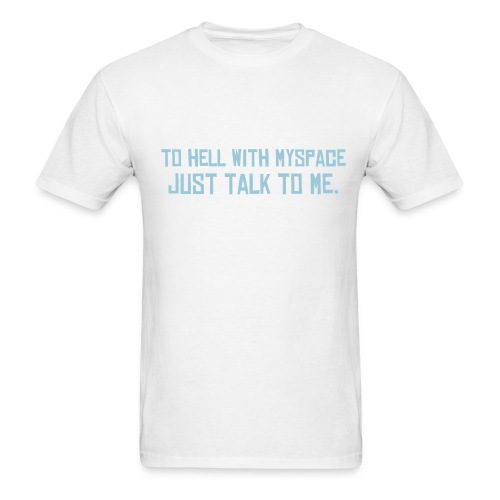 hell with email - Men's T-Shirt
