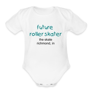 Skater One size - Short Sleeve Baby Bodysuit