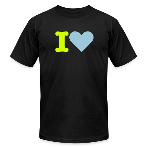 What do you heart? - Men's Fine Jersey T-Shirt