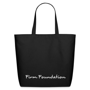 Firm Foundation Shoulder Bag - Eco-Friendly Cotton Tote