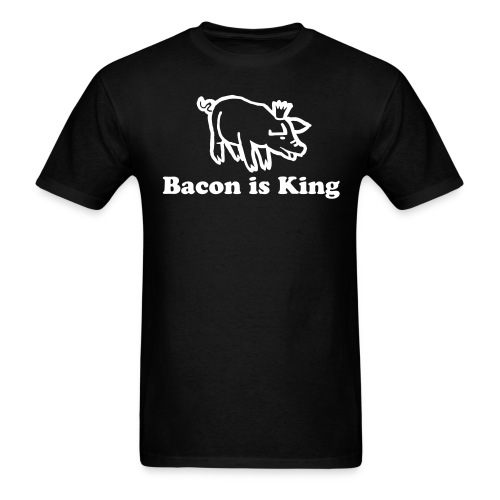 Bacon is King - Men's T-Shirt