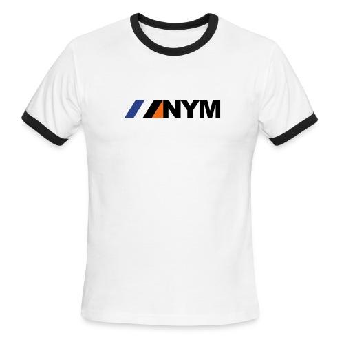 NYM Ringer - Men's Ringer T-Shirt