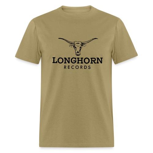 Longhorn Records - green T - Men's T-Shirt