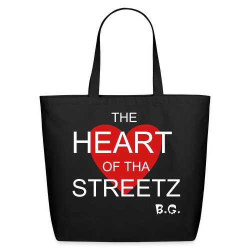 *THE HEART OF THA STREETZ* TOTE BAG - Eco-Friendly Cotton Tote