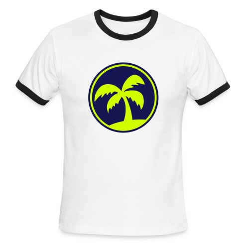 Paradise On The LO! - Men's Ringer T-Shirt
