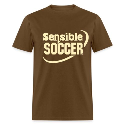 ss.de Shirt (brown/sand) - Men's T-Shirt