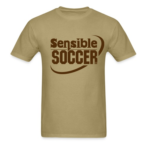 ss.de Shirt (khaki/chocolate) - Men's T-Shirt