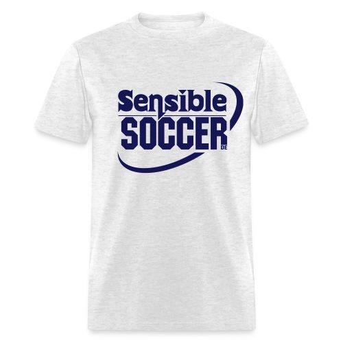 ss.de Shirt (ash/navy) - Men's T-Shirt