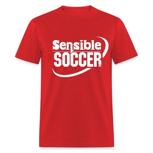 ss.de Shirt (red/white) - Men's T-Shirt