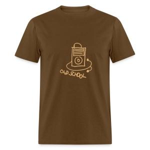 Old School MP3 Player - Men's T-Shirt