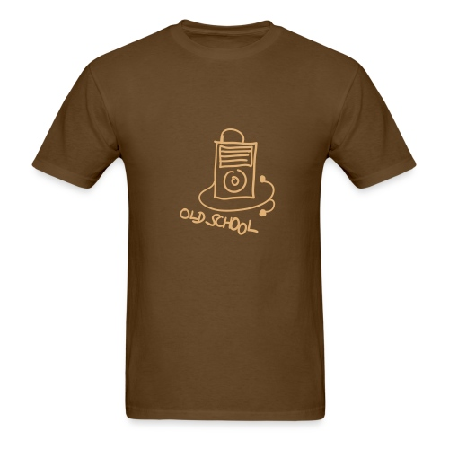 Old School MP3 Player - Men's T-Shirt