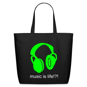 Music is life tote - Eco-Friendly Cotton Tote