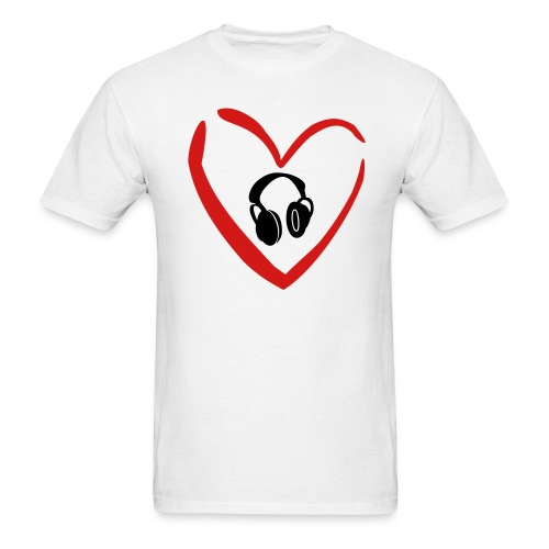 Music is in my blood. - Men's T-Shirt