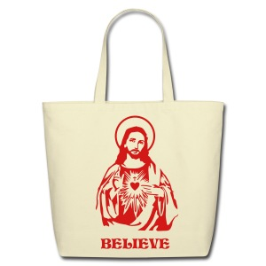 JESUS TOTE - Eco-Friendly Cotton Tote