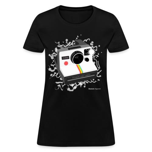 Women's Colored Polaroid Shirt - Women's T-Shirt
