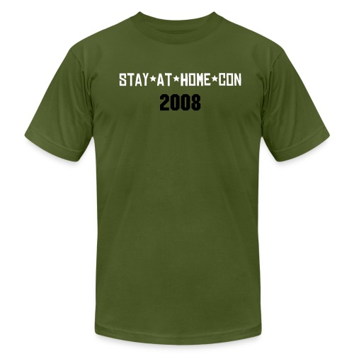 Stay*At*Home*Con 2008 - Men's Fine Jersey T-Shirt
