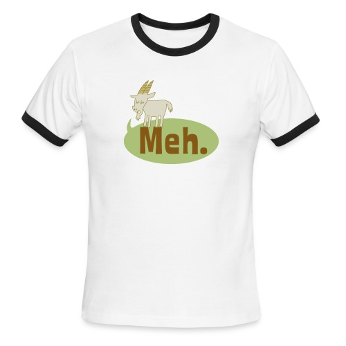 Meh - Men's Ringer T-Shirt