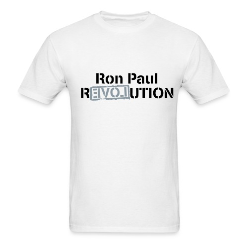 Ron paul Revo - Men's T-Shirt