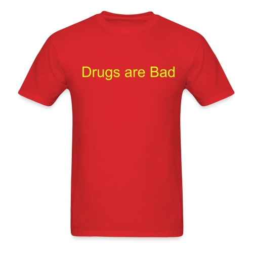 Drugs T-shirt - Men's T-Shirt
