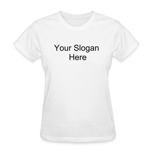 Click to Customize a Womens T-Shirt - Women's T-Shirt