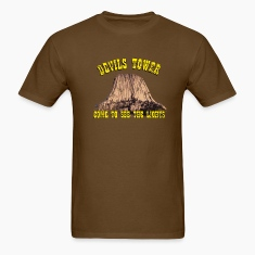 Brown devils Tower T-Shirts