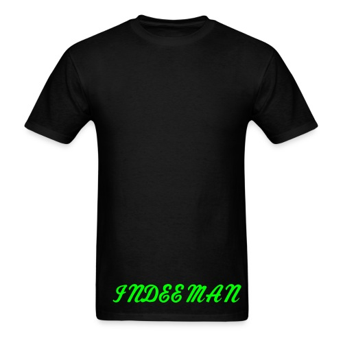 INDEE TEE BLACK - Men's T-Shirt