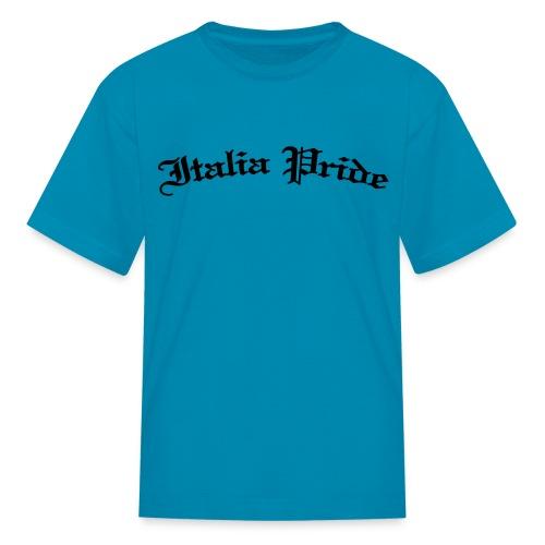 Kids Italia Pride Gothic, Pink - Kids' T-Shirt