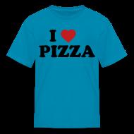 Kids' Shirts ~ Kids' T-Shirt ~ Kids I Love Pizza, Pink