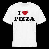 Kids' Shirts ~ Kids' T-Shirt ~ Kids I Love Pizza, White