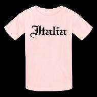 Kids' Shirts ~ Kids' T-Shirt ~ Kids Italia Gothic, Pink