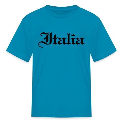 Kids Italia Gothic, Pink - Kids' T-Shirt