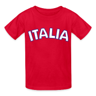 Kids' Shirts ~ Kids' T-Shirt ~ Kids Italia, Red
