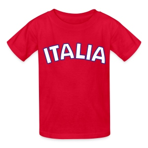 Kids Italia, Red - Kids' T-Shirt